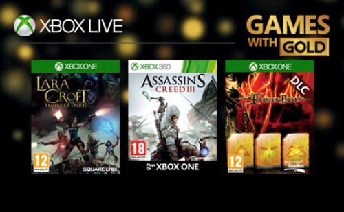 XBox Live Games with Gold June 17 1 M ee